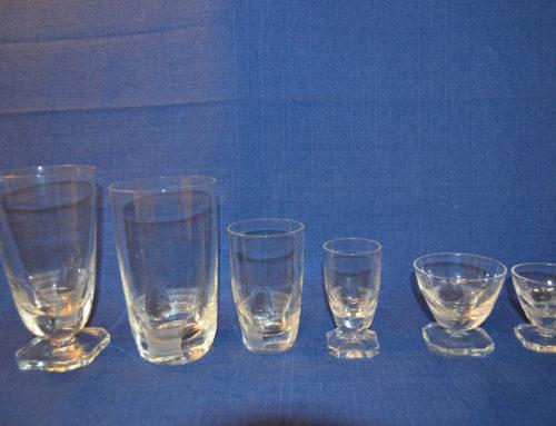 Glasservis 30-40 talet