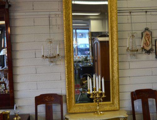 Spegel med konsollbord 1800 tal