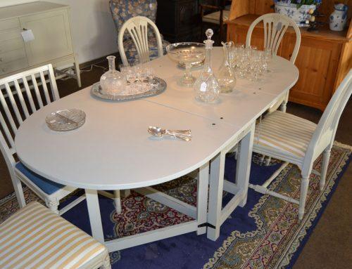 Slagbord  rundade slag antikgrått