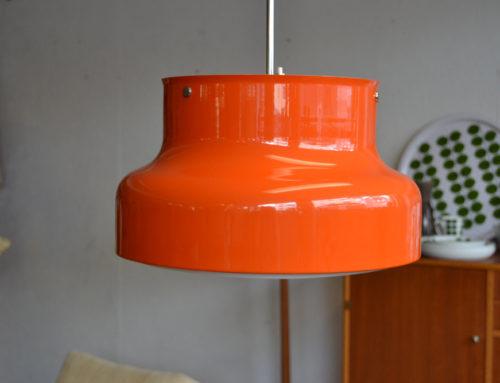 Bumling taklampa orange