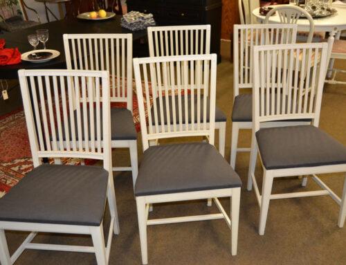 6 st stolar Gustaviansk stil