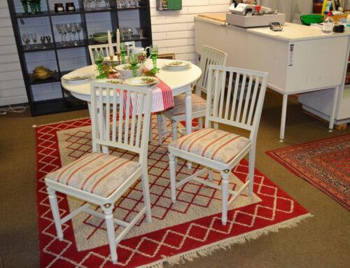 4 stolar så kallade leksandsmodell