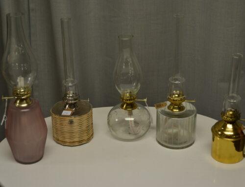 Fotogenlampor från Srömshaga