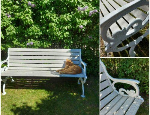 Trädgårdssoffa bänk
