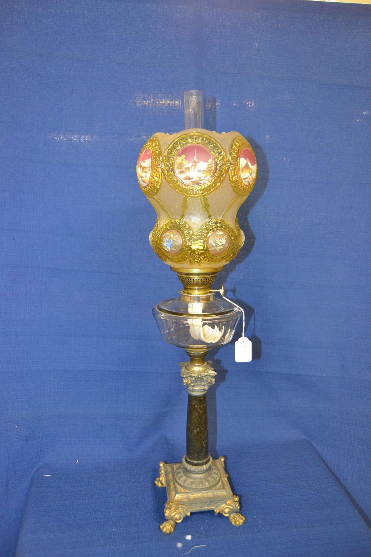 Äldre fotogenlampa