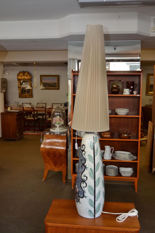 Golvlampa keramik troligtvis Tilgman