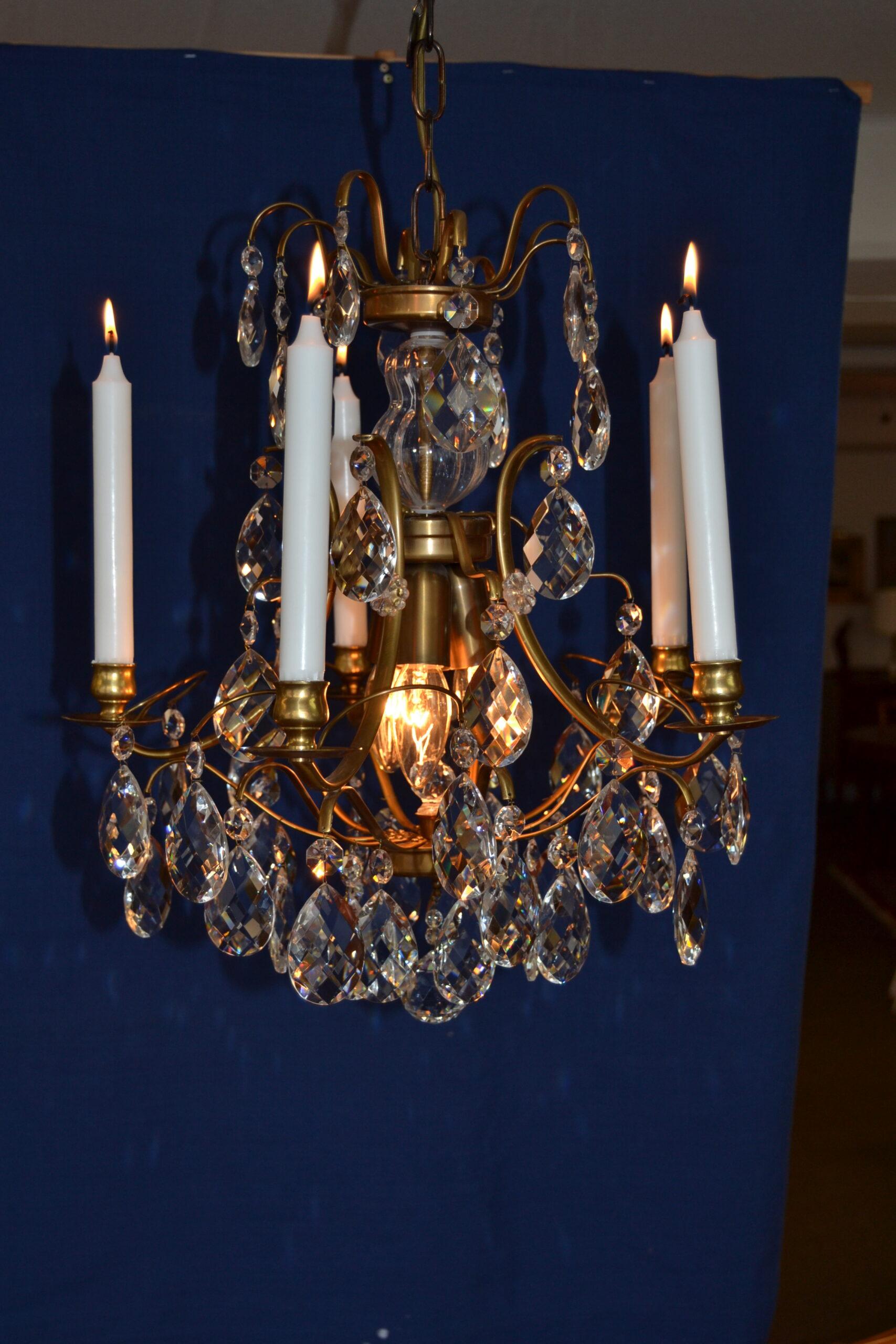 Kristallkrona barockstil