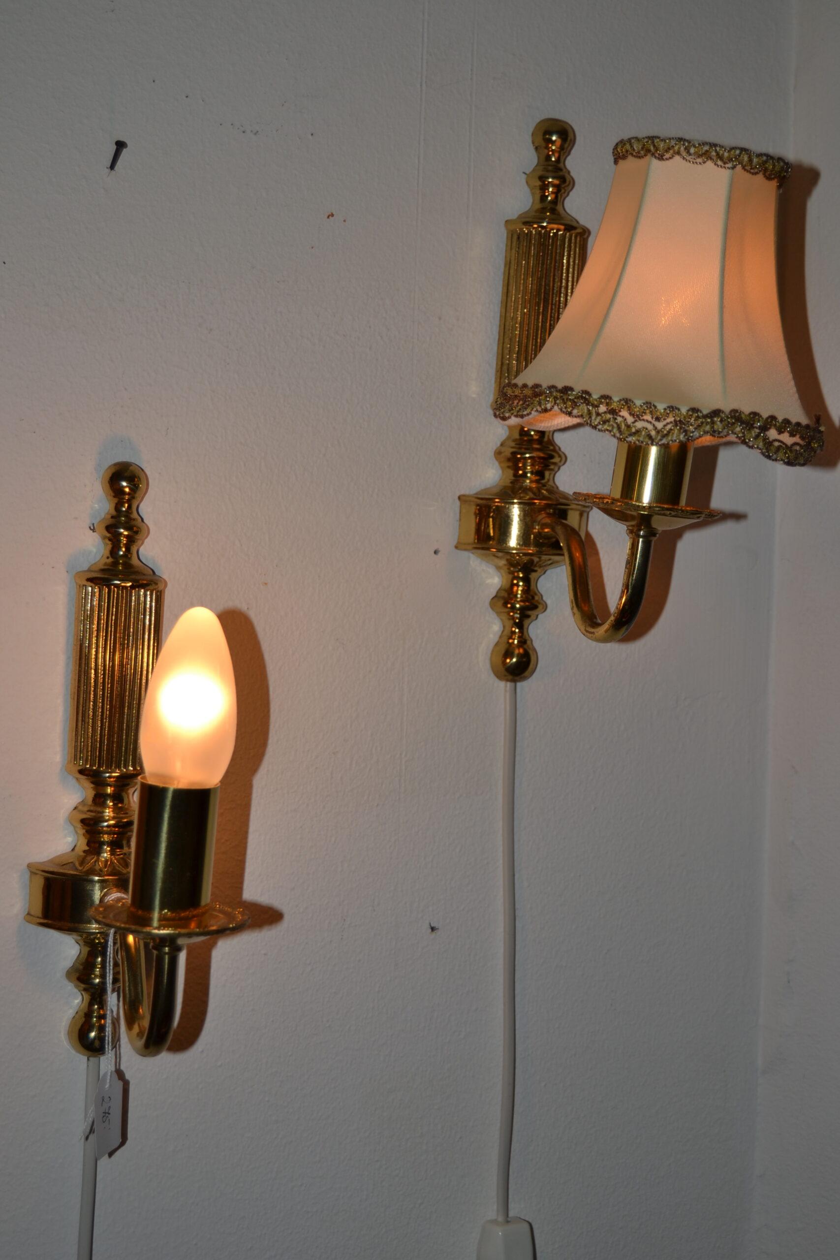 Lampetter i mässing
